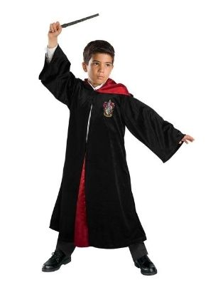 Harry Potter Costume Deluxe Child Robe - Buy Online Only
