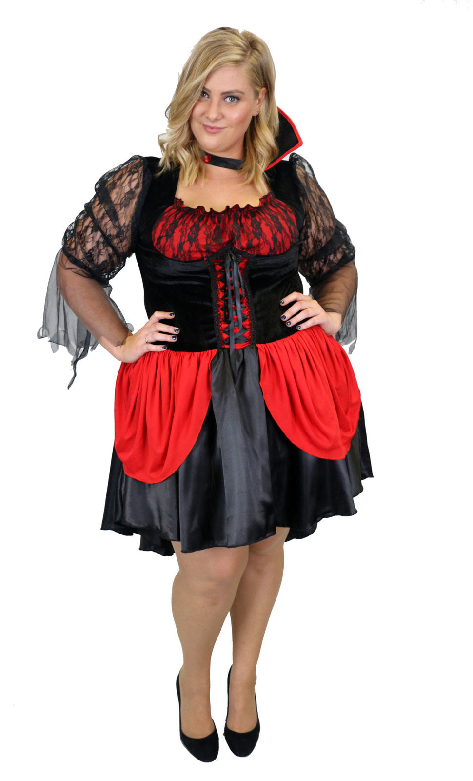 Hot Vampiress Costume - Buy