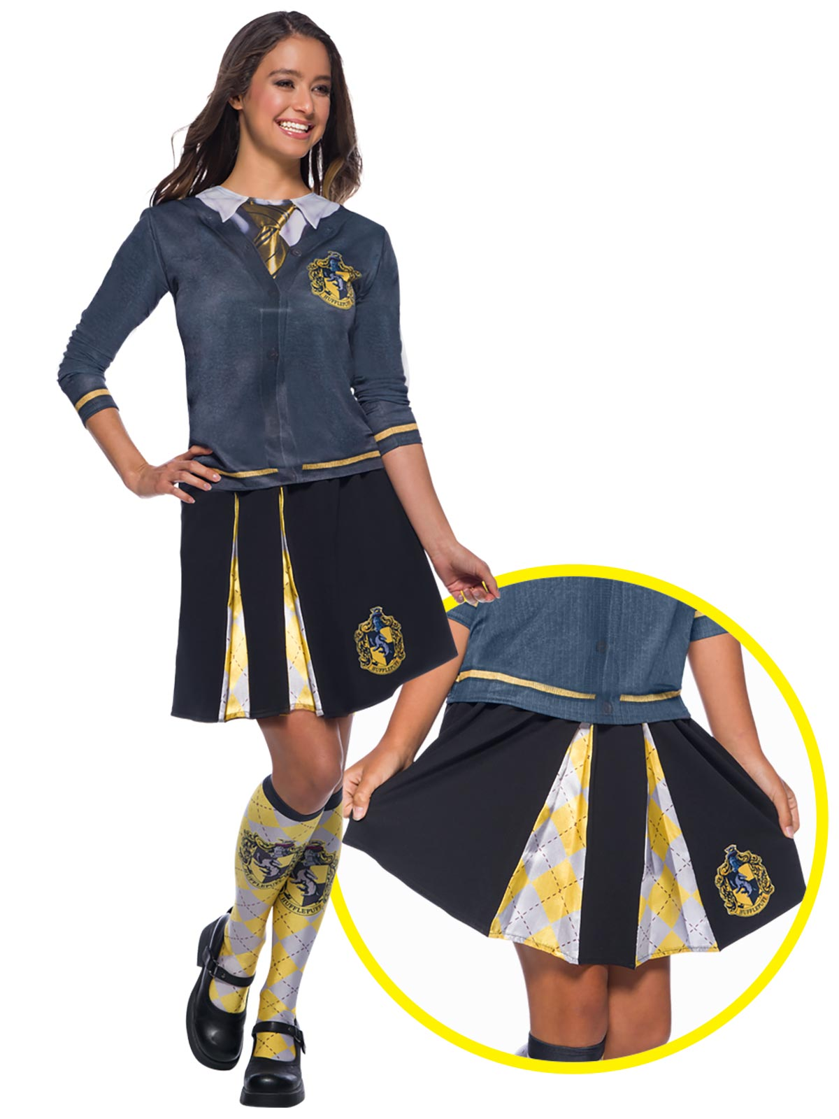 Hufflepuff Costume Skirt  - Buy Online Only