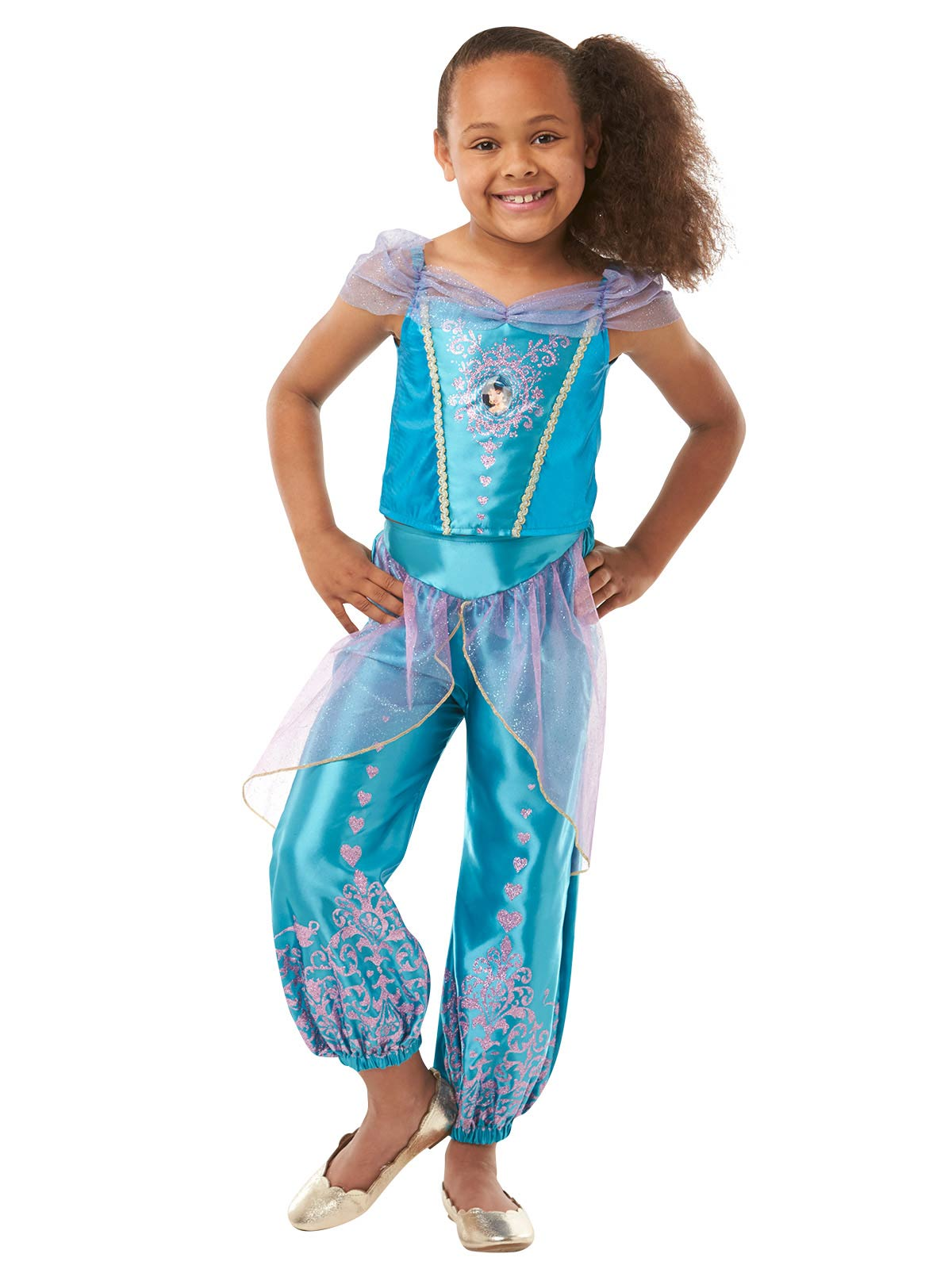 Jasmine Gem Princess Child Costume - Buy Online Only