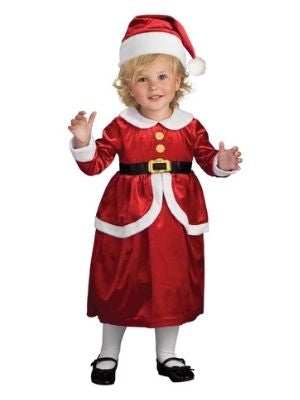 Li'l Mrs Claus Child Costume - Buy Online Only