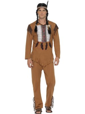 Native American Warrior Costume - Buy Online Only