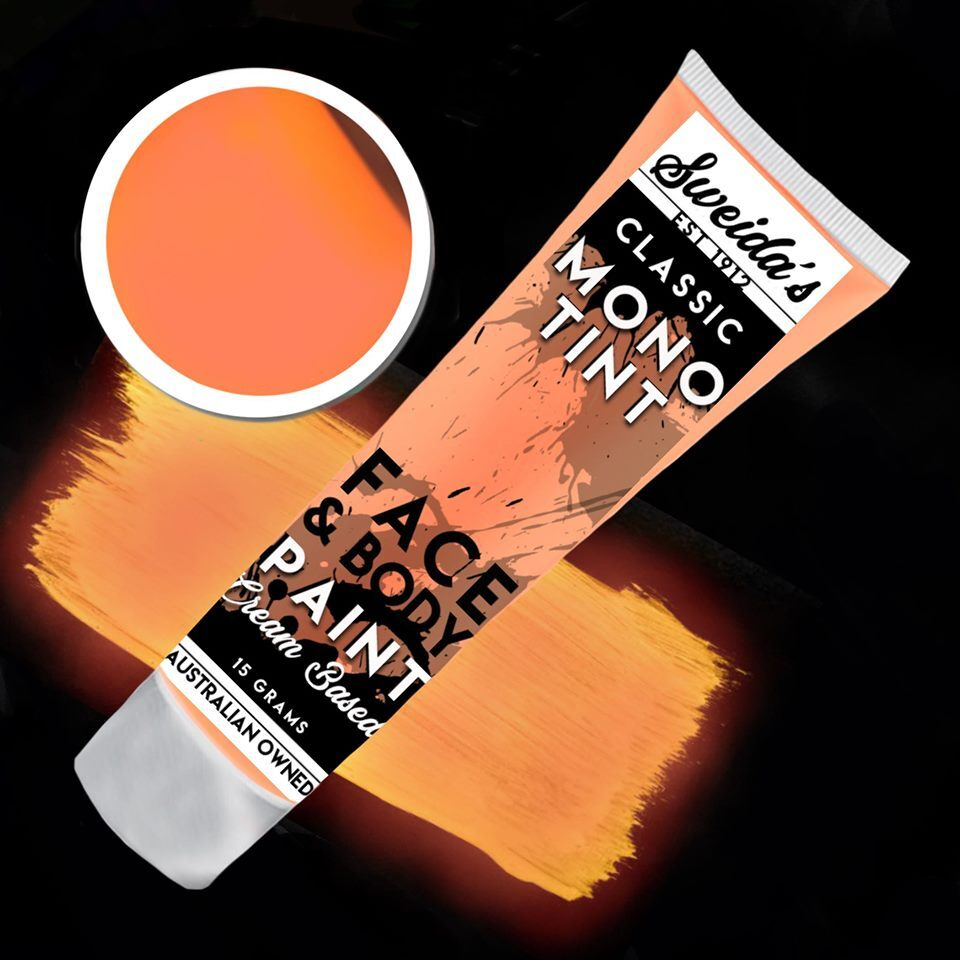 Neon Orange - Monotint Liquid Face & Body Paint 15g