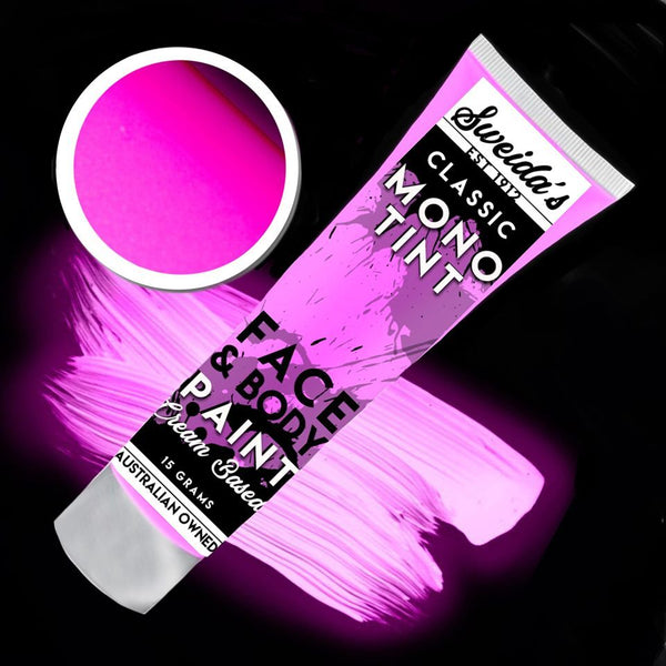 Neon Pink - Monotint Liquid Face & Body Paint 15ml