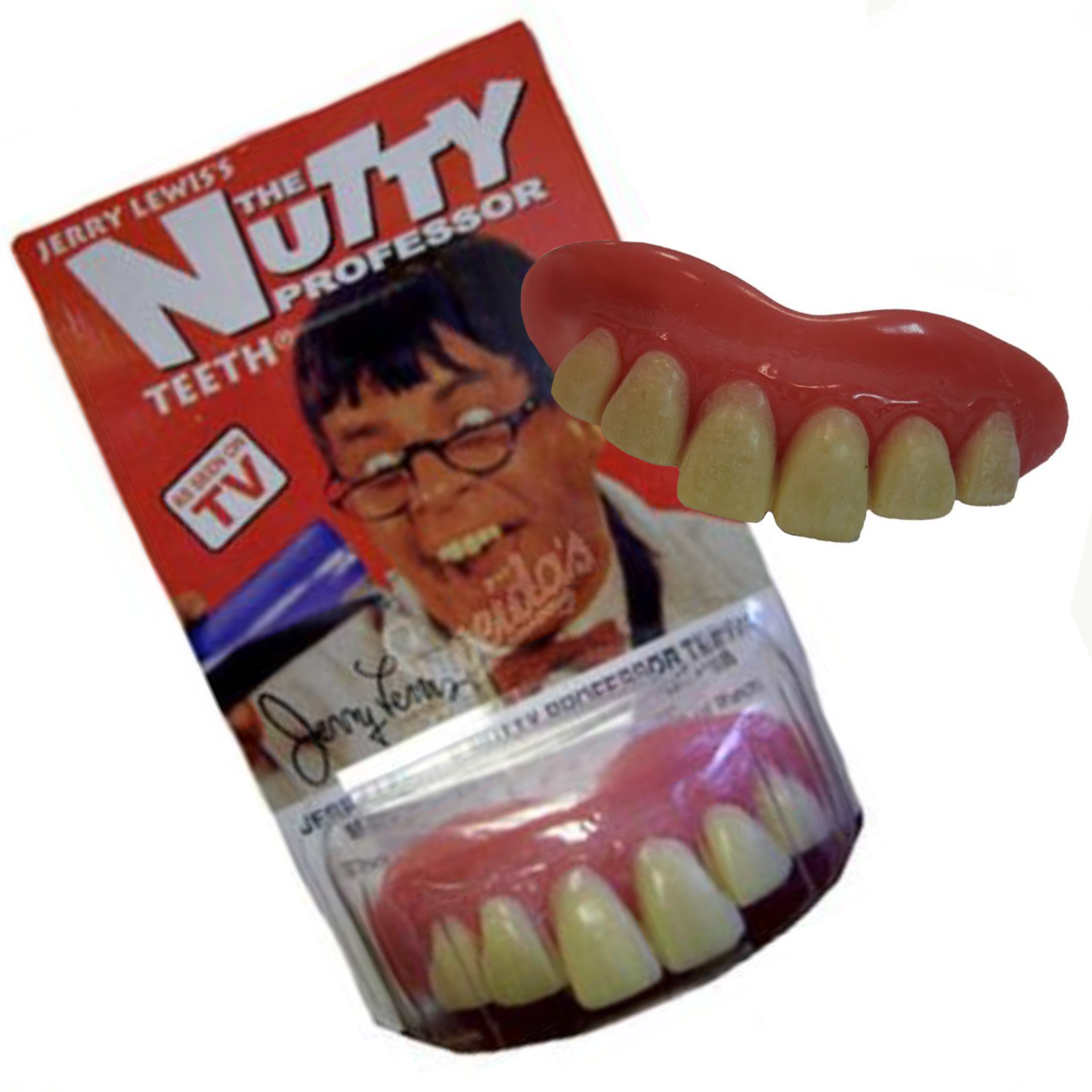 The Nutty Professor Teeth