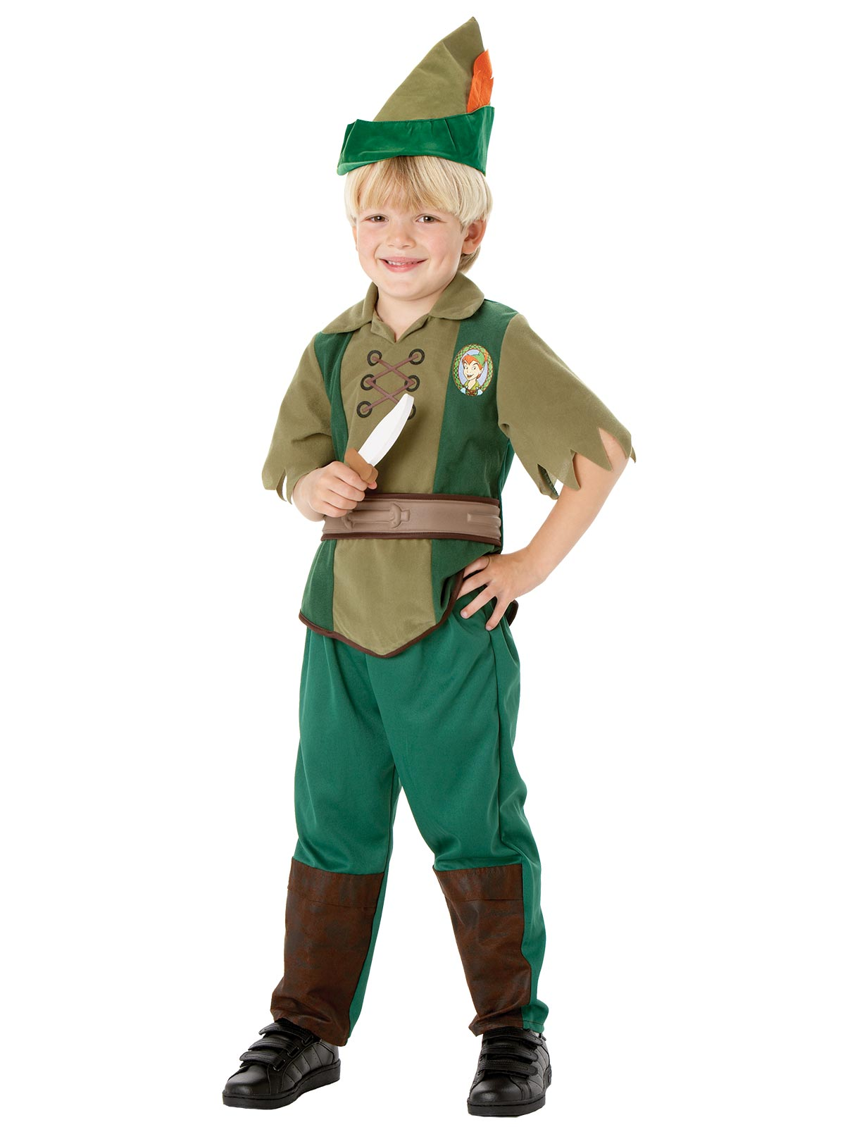 Peter Pan Deluxe Child Costume - Buy Online Only