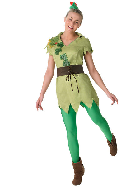 Peter Pan Ladies Costume - Buy Online Only