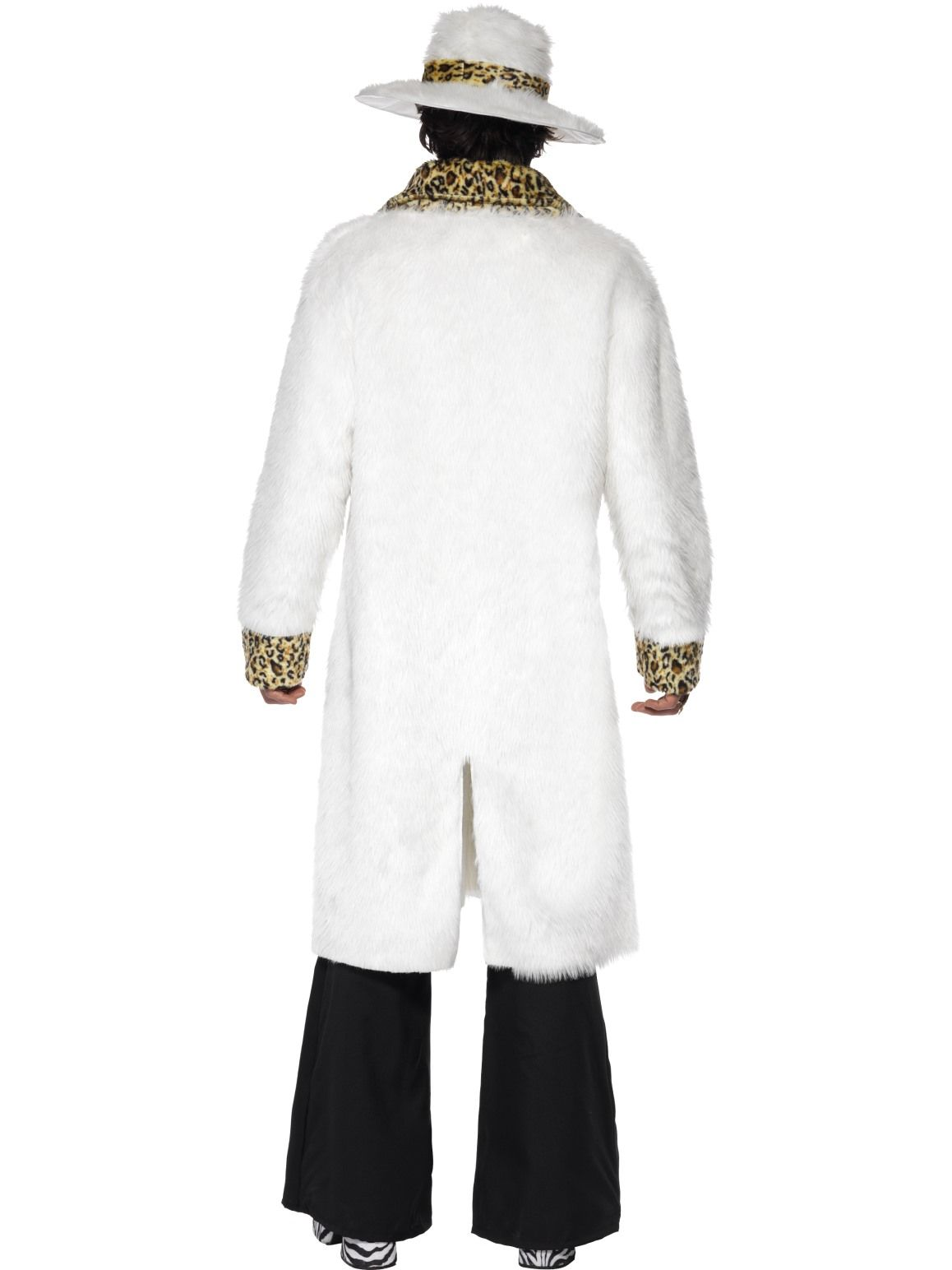 Pimp White 70s Costume - Buy