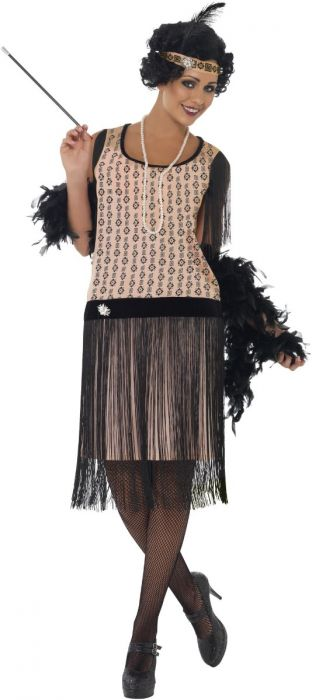 Coco Charleston Flapper Dress Costume - Buy Online Only