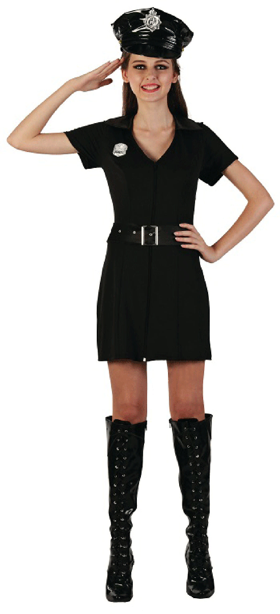 Police Woman Costume - Buy