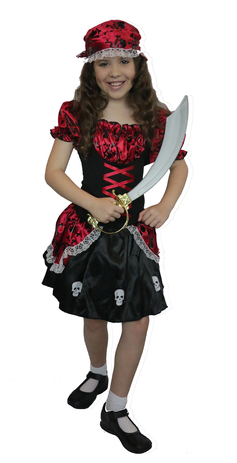 Pirate Girl Child Costume - Buy Online Only