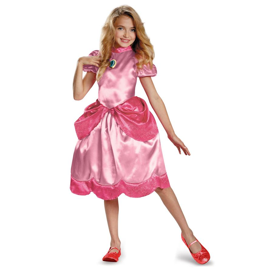 Princess Peach Classic Child Costume