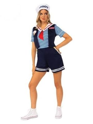 Robin Scoops Ahoy Stranger Things Deluxe Costume - Buy Online Only