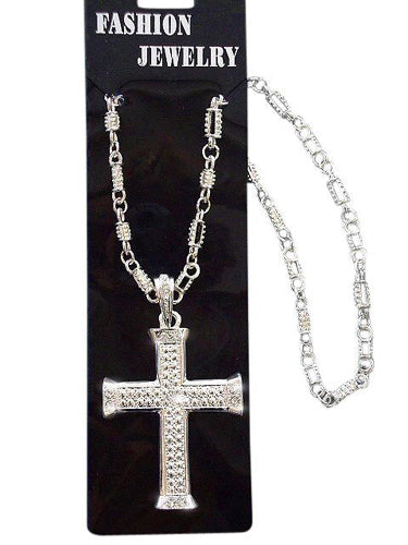 Silver Cross Necklace - Buy
