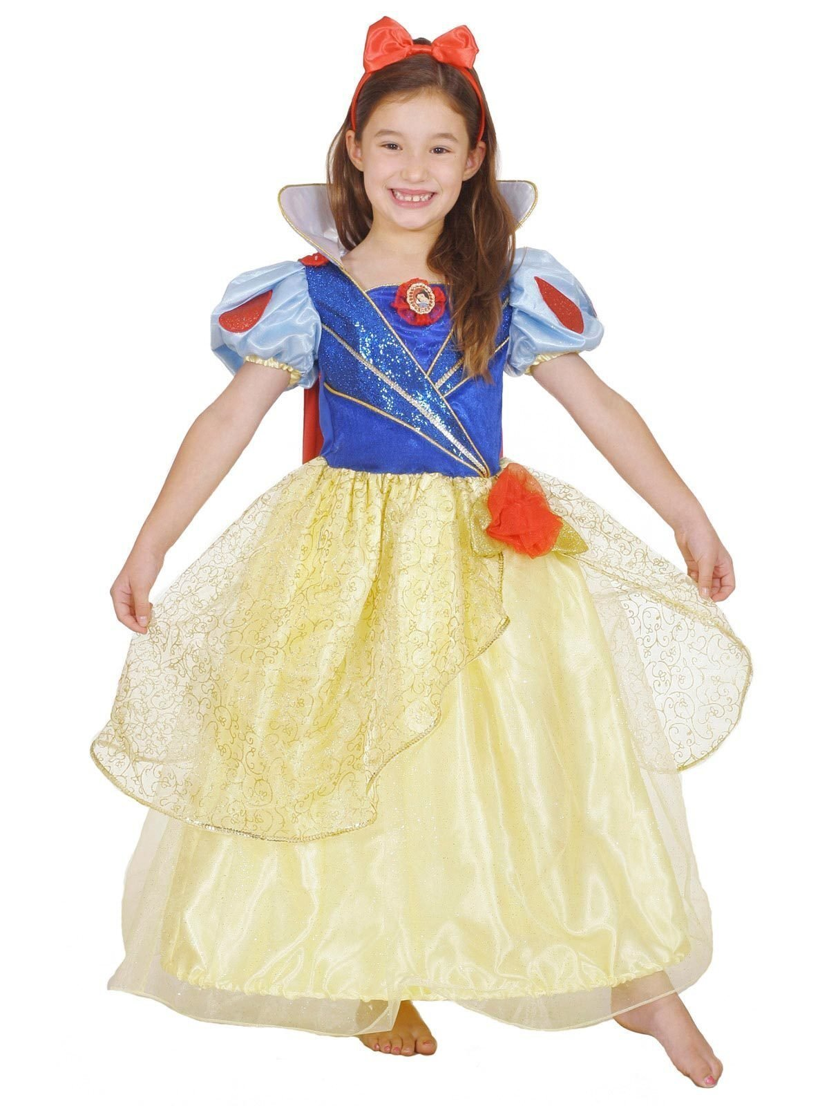 Snow White Glitter and Glow Premium Child Costume - Buy Online Only
