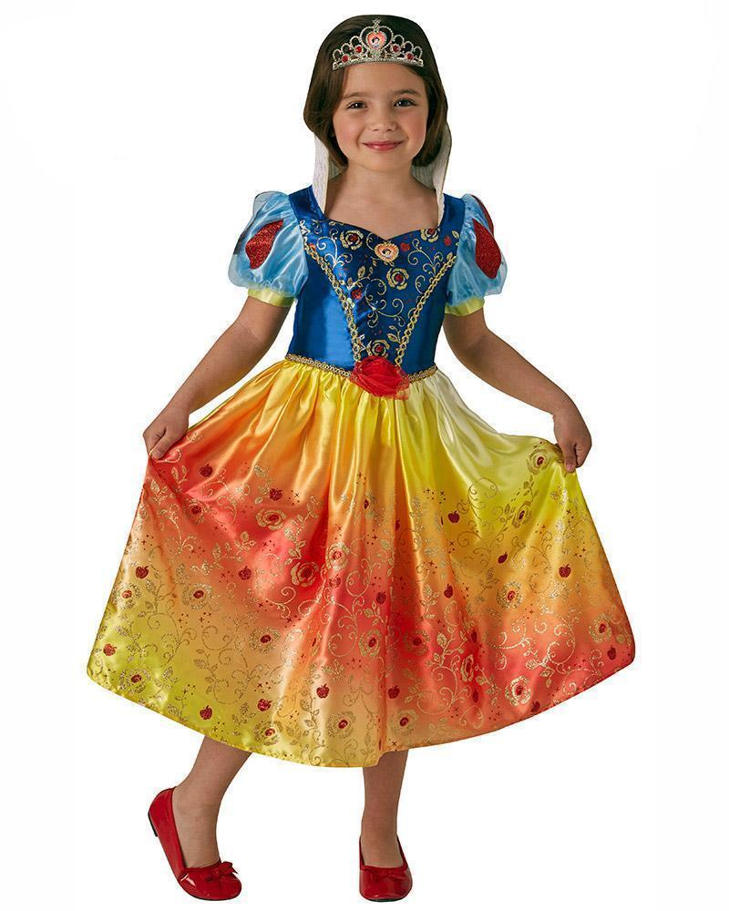 Snow White Rainbow Deluxe Child Costume - Buy Online Only