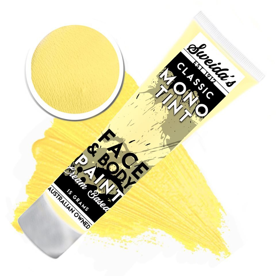 Sunflower Yellow - Monotint Liquid Face & Body Paint 15g
