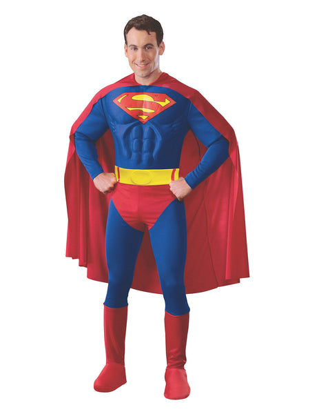 Superman Moulded Chest Costume - Buy Online Only