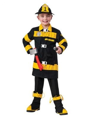 Fireman Child Costume - Buy Online Only