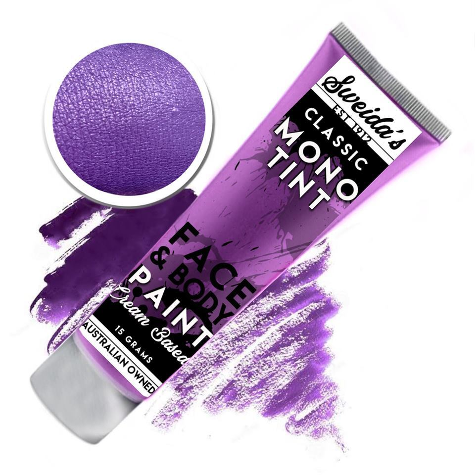 Violet - Monotint Liquid Face & Body Paint 15g