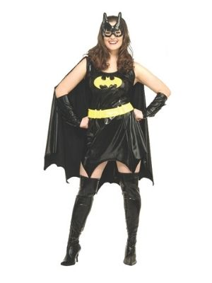 Batgirl Deluxe Costume Plus Size - Hire