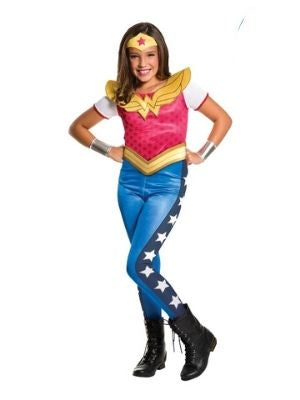 Wonder Woman DC Girl Costume Child