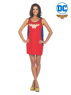Wonder Woman Tank Dress - Buy Online Only