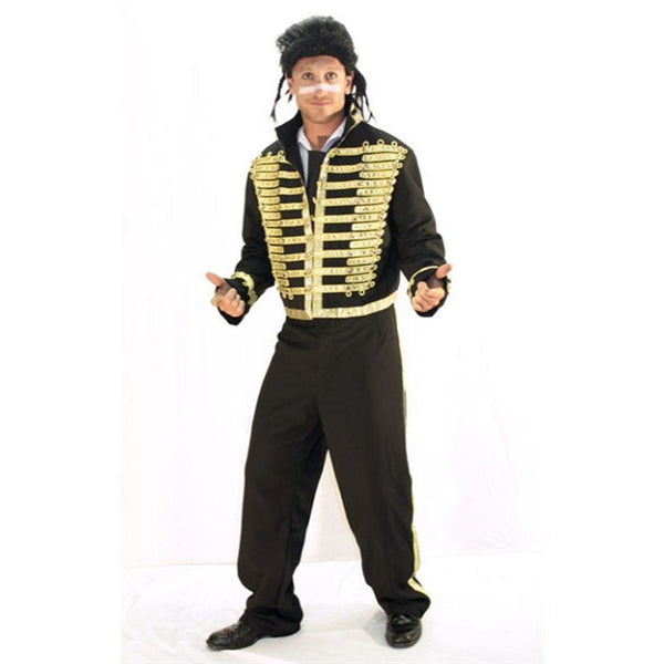 Adam Ant Rockstar Costume - Hire - The Costume Company | Fancy Dress Costumes Hire and Purchase Brisbane and Australia