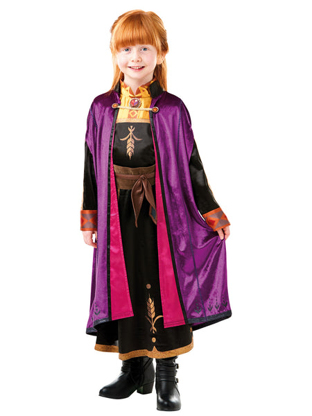 Anna Frozen 2 Deluxe Child Costume - Buy Online Only