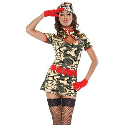 Army Girl - Hire - The Costume Company | Fancy Dress Costumes Hire and Purchase Brisbane and Australia