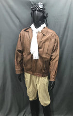 Aviator with Black Flight Hat - Hire - The Costume Company | Fancy Dress Costumes Hire and Purchase Brisbane and Australia
