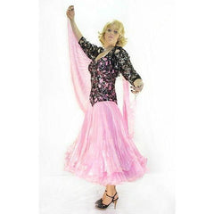 Ballroom Gown Pink Costume - Hire - The Costume Company | Fancy Dress Costumes Hire and Purchase Brisbane and Australia