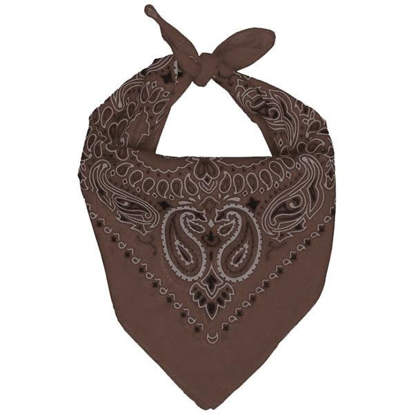Bandana - Brown - The Costume Company | Australian & Family Owned