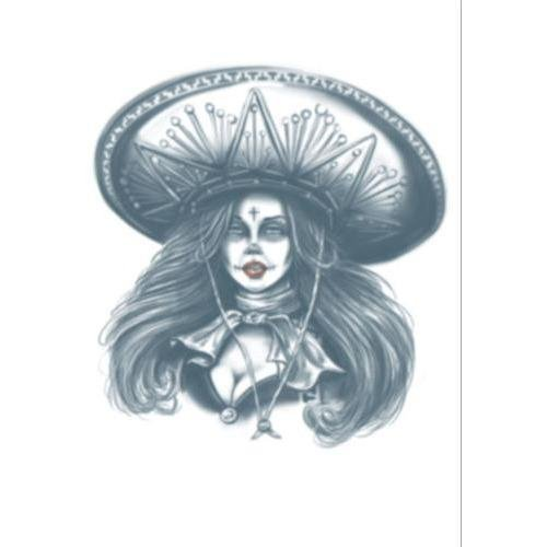 Bandita - Day Of The Dead Tattoo - The Costume Company | Fancy Dress Costumes Hire and Purchase Brisbane and Australia