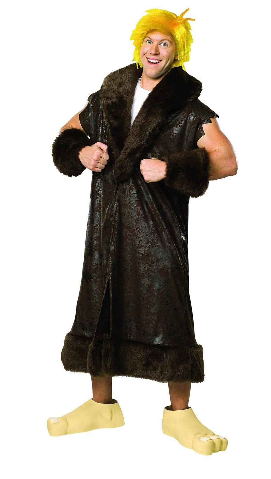 Barney Rubble Deluxe Plus Size The Flintstones Costume - Buy Online Only