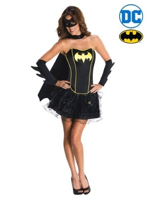Batgirl Deluxe with Tutu Skirt Costume - Buy Online Only - The Costume Company | Australian & Family Owned