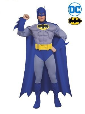 Batman Grey Deluxe Costume - Buy Online Only - The Costume Company | Australian & Family Owned