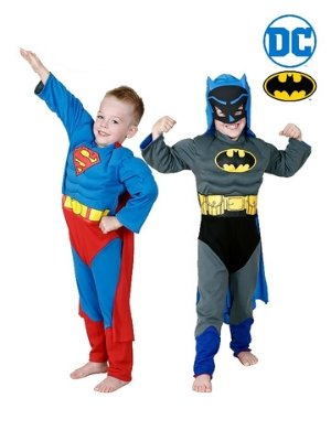 Batman to Superman Reversible Child Costume - Buy Online Only - The Costume Company | Australian & Family Owned