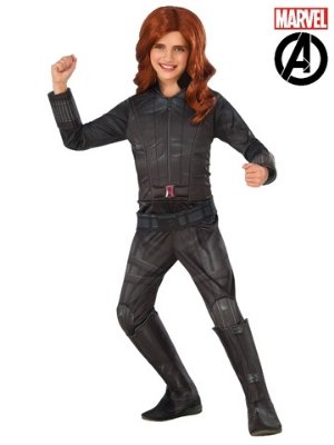 Black Widow Deluxe Child - Buy Online Only - The Costume Company | Australian & Family Owned