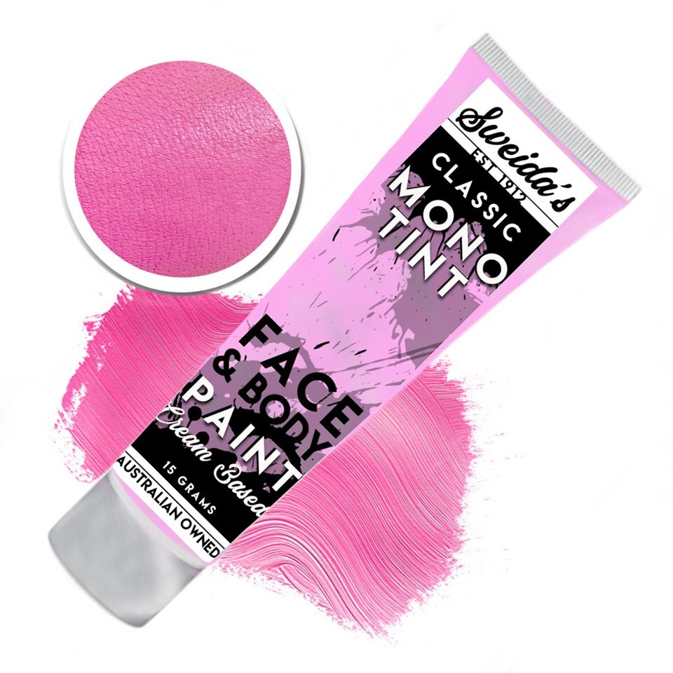 Bubble Gum Pink - Monotint Liquid Face & Body Paint 15g