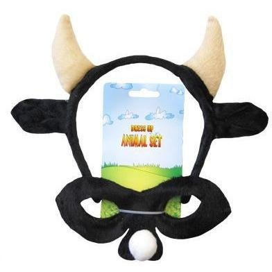 Bull - Headband and Mask Set - The Costume Company | Fancy Dress Costumes Hire and Purchase Brisbane and Australia