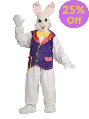 Bunny Mascot Costume - Online Only - The Costume Company | Australian & Family Owned