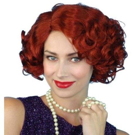 Cabaret Auburn Wig - The Costume Company | Fancy Dress Costumes Hire and Purchase Brisbane and Australia