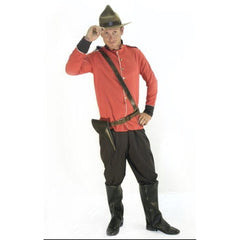 Canadian Mountie - Hire - The Costume Company | Fancy Dress Costumes Hire and Purchase Brisbane and Australia