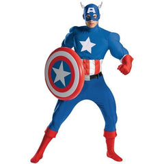Captain America Costume - Hire - The Costume Company | Fancy Dress Costumes Hire and Purchase Brisbane and Australia