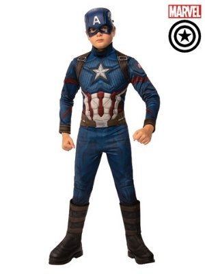 Captain America Deluxe Costume Child - Buy Online Only - The Costume Company | Australian & Family Owned