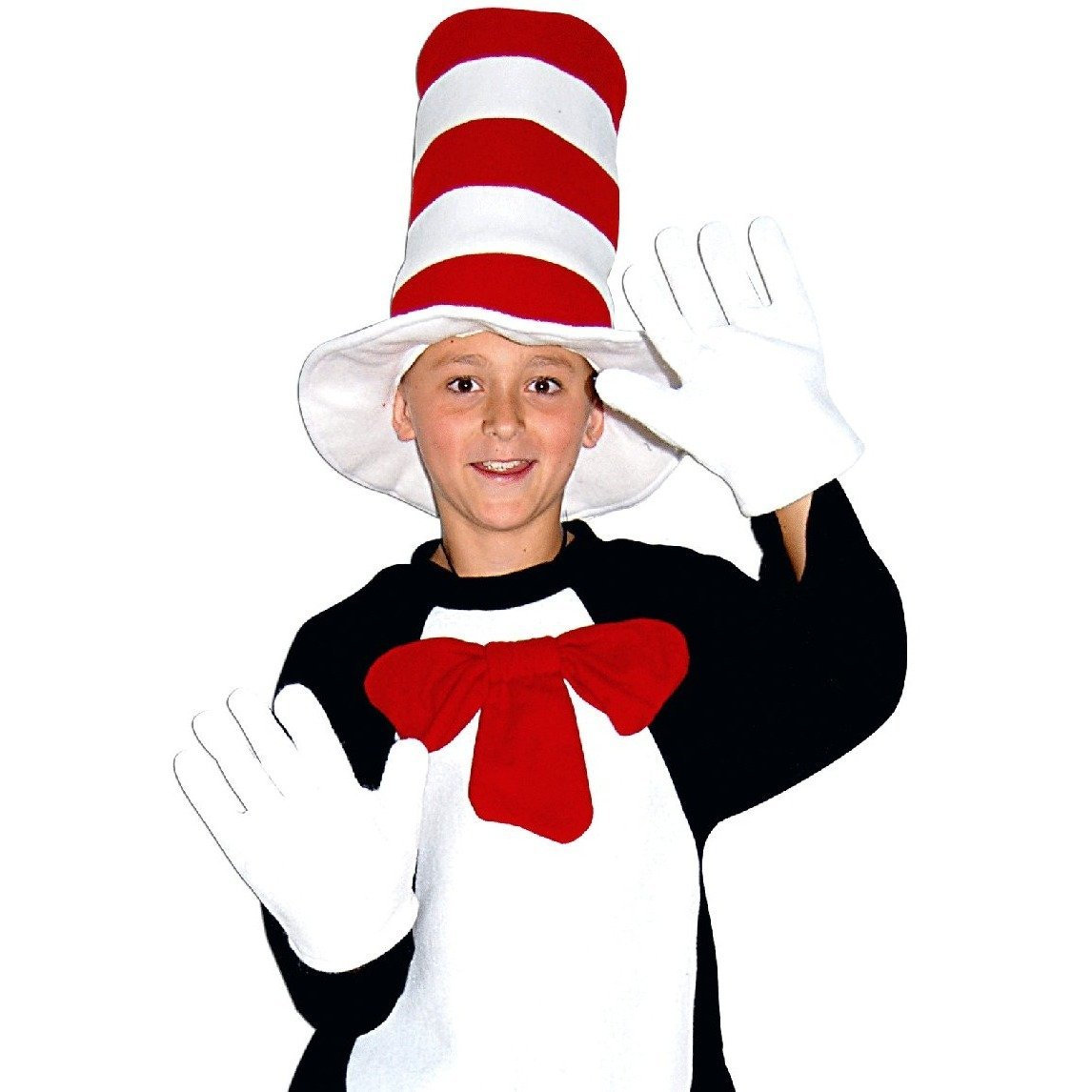Cat with the Hat Set - The Costume Company | Fancy Dress Costumes Hire and Purchase Brisbane and Australia