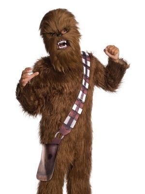 Chewbacca Moveable Jaw Mask - Buy Online Only