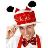 Christmas Chimney Hat - The Costume Company | Fancy Dress Costumes Hire and Purchase Brisbane and Australia
