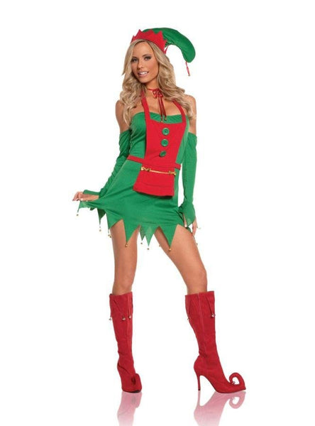 Christmas Elf Costume - Hire - The Costume Company | Fancy Dress Costumes Hire and Purchase Brisbane and Australia